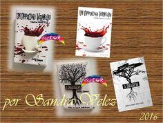 Ímans das capas dos livros de Joel G. Gomes modelados em biscuit / porcelana fria.