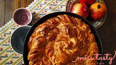 Τυρόψωμο στριφτό σαλιγκάρι - Miss Tasty Recipes, Bread, Recipies, Ripped Recipes, Recipe, Bakeries, Breads, Cooking Recipes