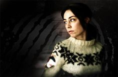 'Forbrydelsen' - 'The Killing' - Sophie Gråbøl as Detective Sarah Lund.