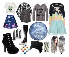 """Magic"" by spookyscarytoast ❤ liked on Polyvore featuring Aéropostale, Billabong, Boohoo, Wildfox, Converse and Casetify"