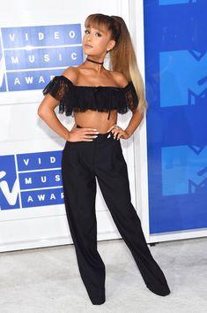 Ariana Grande in Alexander Wang - Every Look from the 2016 MTV VMAs - Photos