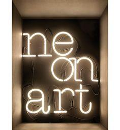 Lettre A - Néon Art