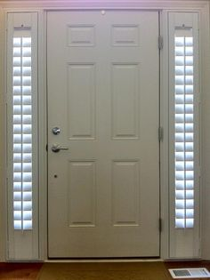 Shades For Front Door Designs Plans Side Windows Sidelight