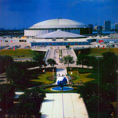 The Grand Entrance into the Astrodome & Six Flags Astroworld.  It's a shame but it is no longer there.