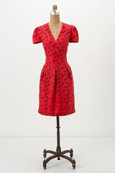 LOVE the sophisticated cut paired with the whimsical print. Anthropologie, $158.00
