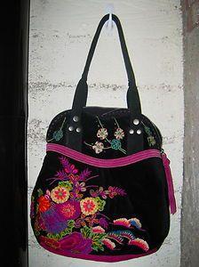Lucky Brand embroidered bag.
