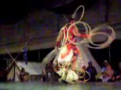 World Champion First Nations Hoop Dancer, Dallas Arcand, performs at the CapitalEx in Edmonton (2006)