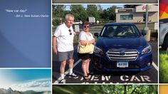 Dear Bill Jankovsky   A heartfelt thank you for the purchase of your new Subaru from all of us at Premier Subaru.   We're proud to have you as part of the Subaru Family.