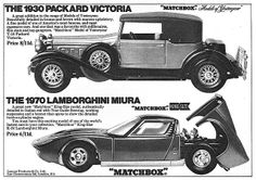 Matchbox Cars Ad 1969 by combomphotos, via Flickr