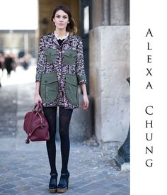 twin birds: **IT: Alexa Chung´s book