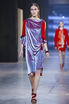 Turned on by this vibrancy. Christopher Kane Ready To Wear Fall Winter 2015 London
