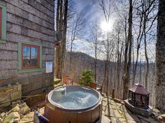 Wolf Laurel castle rental - Your new favorite outdoor space on the planet. Welcome home!
