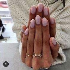 nail shapes 2021  nail shapes short  oval nail shape  squoval nails  round nail shape  types of nail shapes  nail shapes 2020  gel nail shapes  types of fingernails  almond nail shape Short Oval Nails, Short Pink Nails, Round Nails, Gel Nails Shape, Nail Shapes Squoval, Natural Nail Shapes, Natural Nails, Cute Nails, Pretty Nails