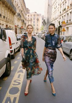 My dry cleaner and I are going to be BEST FRIENDS once I own gorgeous printed silk dresses. (Alexander Terekhov)