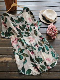 SHARE & Get it FREE | Casual Floral A-Line Dress - GreenFor Fashion Lovers only:80,000+ Items • New Arrivals Daily Join Zaful: Get YOUR $50 NOW!