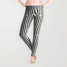 3f92594099b81 Ses black and white Leggings by fimbis | Society6 yoga pants, yoga leggings,  design