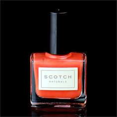 """Scotch Naturals Highland Fling combines two of Spring's hottest colors-- Coral and Orange for something we like to call """"Coralange""""!"""
