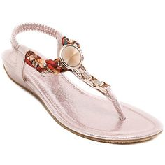 Bohemian Flip Flop and Weaving Design Sandals For Women Low Wedge Sandals, Sexy Sandals, Low Wedges, Shoes Sandals, Bohemian Sandals, Boho Shoes, Weaving Designs, Braided Leather, Vintage Shoes