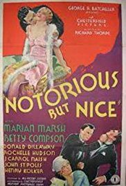 Image result for notorious but nice 1933