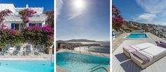 We are glad to present Margò. Perched above the old harbor of Mykonos Town and with inspiring views over the rooftops, stretching across the Aegean all the way into the colorful sunsets, Margò is a classic example of the Mykonian lifestyle and traditional architecture. Discover more... http://www.mykonosvillas.com/our-villas/margo