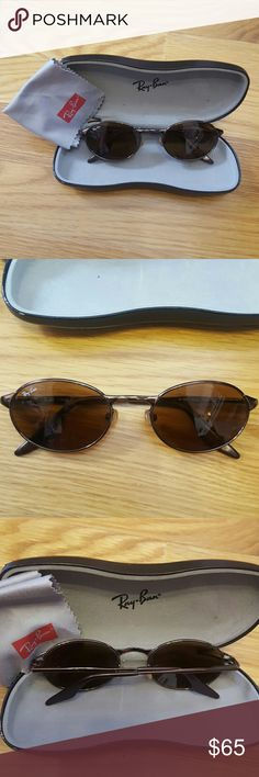 Vintage Ray Ban RB 3002 W3128 Bronze Perfect condition  comes with official case and cloth Ray-Ban Accessories Sunglasses