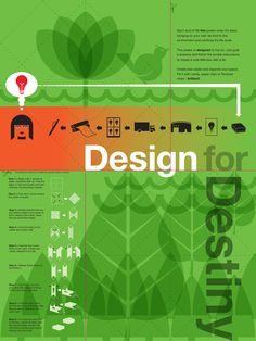 poster design promoting thoughtful design