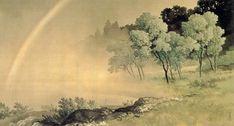 KAWAI Gyokudō 川合玉堂 -  雨後 After Rain  1924