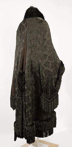 Cloak Designer: Emile Pingat (French, active 1860–96) Date: 1879–80 Culture: French Medium: silk