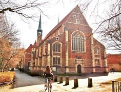 The Petrikirche in spring sunshine!  #Münster #NRW #Germany