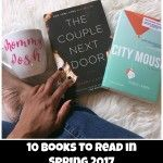 With the weather being so nice and both kids in school, I am able to make myself my a picnic and indulge in some juicy reads. As much as I love things online, I still haven't embraced reading books o...