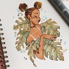 """16.7k Likes, 30 Comments - @sibylline_m on Instagram: """"Quick one in my @mosseryco sketchbook  Use the code SIBYLLINE15 for 15% off your order (link to…"""""""