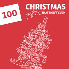 100 Cool Christmas Gifts That Don't Suck- the holy grail for Christmas gift ideas! So many awesome gifts I had never heard of before.