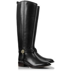 Tory Burch Bristol Riding Boot found on Polyvore