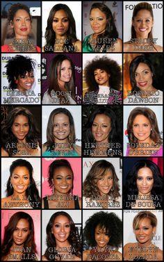 Beautiful Afrolatinas on your TV and movie screens.