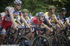 LARS VAN DER HAAR GETTING READY TO STARTAT NEERPELT - Cyclocrossrider