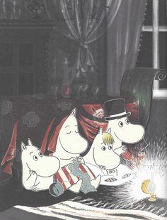 The Fir Tree – Christmas Comes to Moominvalley ~ tygertale advent Moomin Wallpaper, Iphone Wallpaper, Moomin Cartoon, Les Moomins, Moomin Valley, Tove Jansson, Sketchbook Inspiration, Christmas Wallpaper, Cute Wallpapers