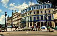 Hotel Telégrafo y Gran Teatro de La Habana