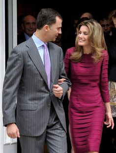 Queen Letizia of Spain Photos Photos - Prince Felipe of Spain and Princess Letizia of Spain attend official audiences at the Zarzuela Palace on April 16, 2010 in Madrid, Spain. - Spanish Royals Attend Official Audiences in Madrid