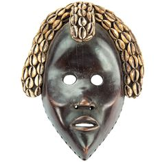 1stdibs   Antique African Ivory Coast Dan Tribal Mask