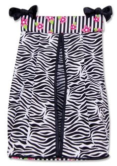 Diaper Stacker- I like the look of two different prints, and that it has ties at the top instead of a hangar @magg