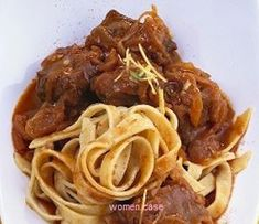 Greek Recipes, Recipies, Spaghetti, Food And Drink, Ethnic Recipes, Recipes, Noodle