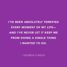 Here's to a fearless Friday!