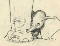 Dumbo and moms feet