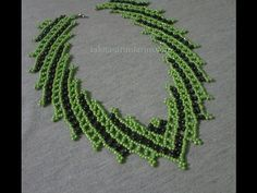 Jewelry Set Making (Necklace) Seed Bead Tutorials, Beading Tutorials, Beading Patterns, Bead Jewellery, Seed Bead Jewelry, Necklace Tutorial, Diy Necklace, Beaded Necklace Patterns, Beaded Collar