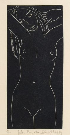 John Buckland-Wright 1929 wood engraving