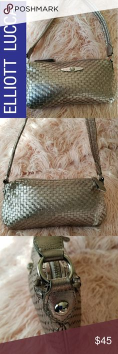 ELLIOTT LUCCA  SMALL BAG Beautiful classy small bag. Zip closure and zip pocket on the the inside and two small pocket on the other side. ELLIOTT LUCCA Bags Mini Bags