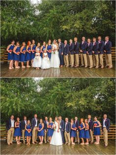 Large Wedding Party Click To View More Pictures From This Photographer