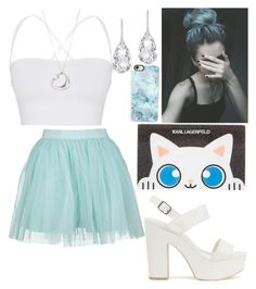 """""""♚- I wouldn't dare wear"""" by whisperwolf22 ❤ liked on Polyvore featuring Boohoo, Theory, Nly Shoes, Plukka, Tiffany & Co., Karl Lagerfeld, Casetify, whisperwolfshelbycreations, iwouldandwouldntwear and fashionbywhisperwolfshelby"""