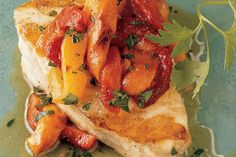 Sea Bass with Roasted Pepper Vinaigrette / Seafood dishes / iChef. Weber Barbecue, Bbq, Seafood Dishes, Seafood Recipes, Weber Q Recipes, Red Snapper, Sea Bass, Vinaigrette, Roast
