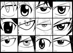 And some people say every anime eye is the same.... (。-_-。)